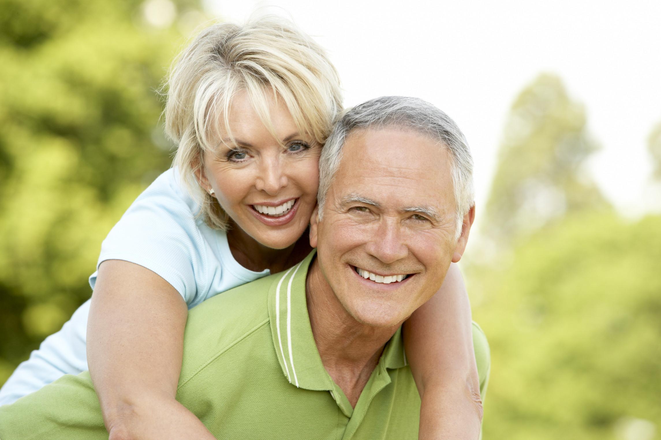 Фото зрелой женщины с мужем