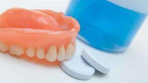 Простой уход за зубными протезами